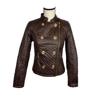 Moto Jacket Brown vegan leather